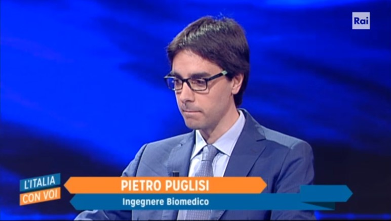 Pietro Puglisi interviewed by RAI