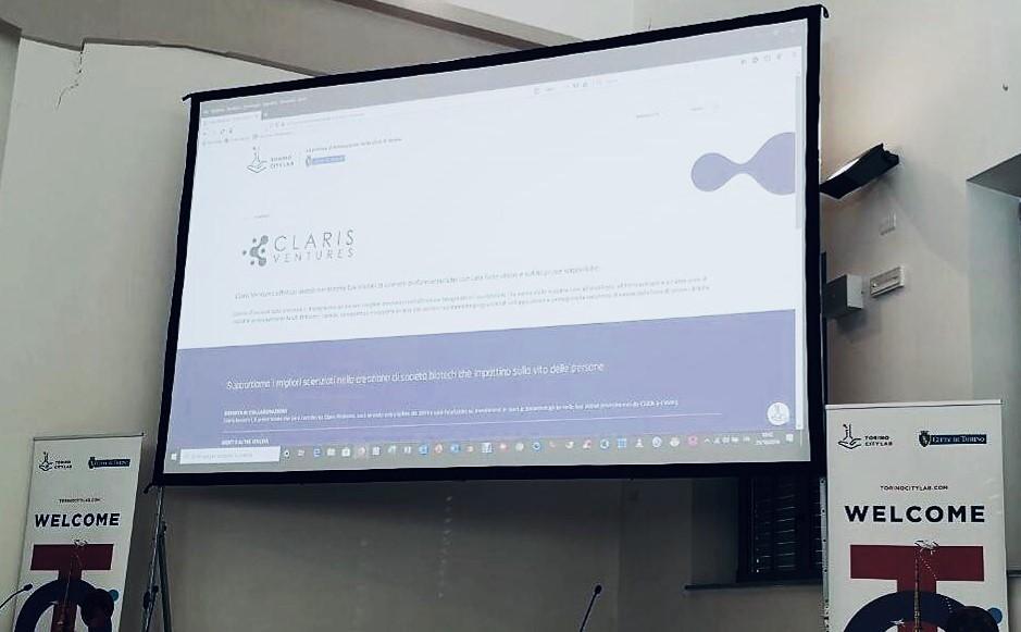 Claris Ventures partnership Torino CIty Lab